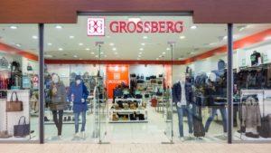 Grossberg vaatekauppa Lasnamäe Centrum Tallinna.