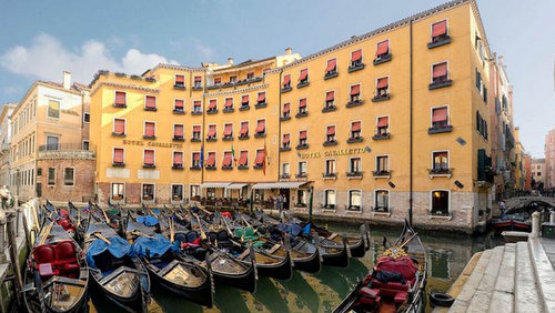Albergo Cavalletto and Doge Orseolo Hotel in Venice, Italy.