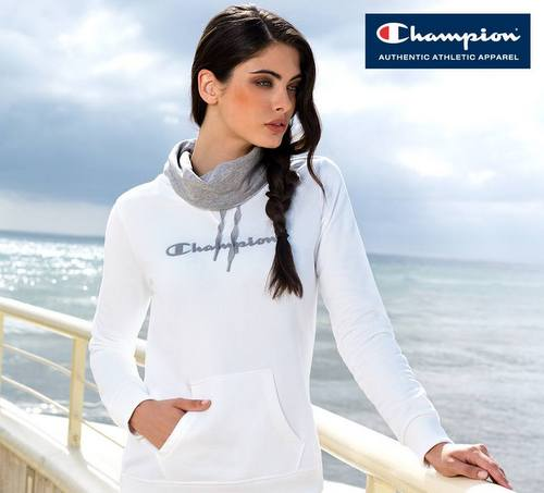 Champion clothing, available in Venice, Italy.