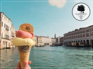 Gelato di Natura's gelato ice cream, available in Venice, Italy.