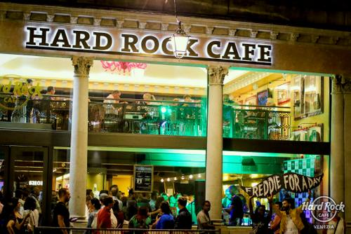Hard Rock Cafe Venezia, Italy.