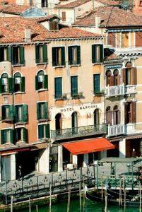 Hotel Marconi in Venice, Italy.