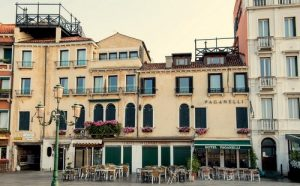 Hotel Paganelli in Venice, Italy.