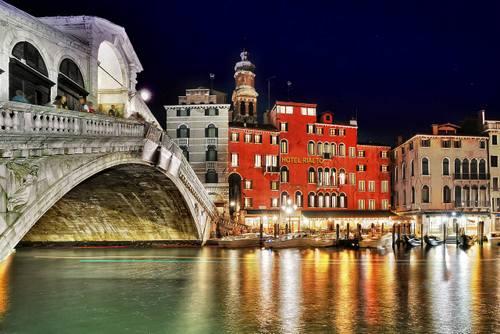 Hotel Rialto in Venice, Italy.