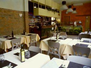 La Tecia Vegana vegan restaurant in Venice, Italy.