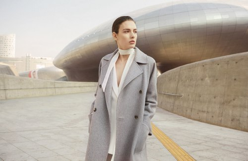 Max Mara womenswear, available in Venice, Italy.