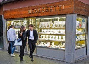 Meneghetti l'orafo di Venezia Jewelry Store in Venice, Italy.