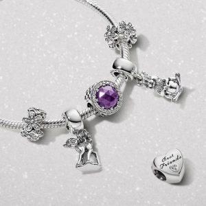 Pandora charm bracelet, available in Venice, Italy.