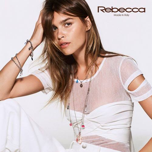 Rebecca women's jewelry, available in Venice, Italy.