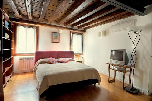 B&B Leonardo's guest room in Venice, Italy.