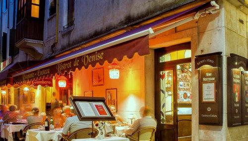 Bistrot de Venise restaurant in Venice, Italy.