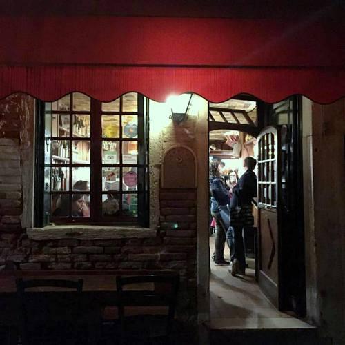 Enoteca Al Volto restaurant in Venice, Italy.