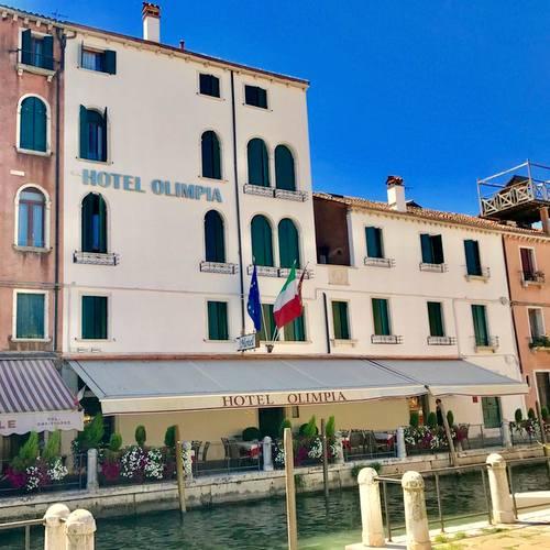 Hotel Olimpia Venice Italy.