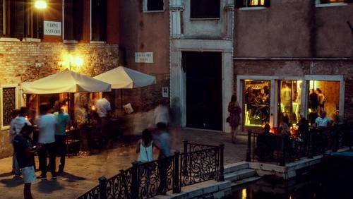 Luna Sentada restaurant in Venice, Italy.