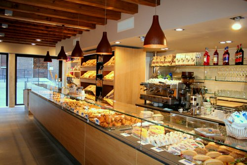 Majer Venezia bakery shop in Cannaregio district of Venice, Italy.