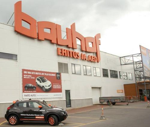 Bauhof rautakauppa Tallinna