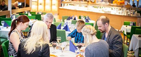 Buffet Eckerö ravintola Eckerö Line