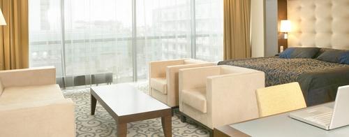 Junior Suite sviitti Tallink City Hotel Tallinna