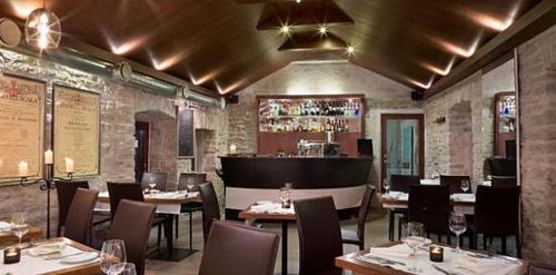 La Boheme ravintola & brasserie von Stackelberg hotelli Tallinna