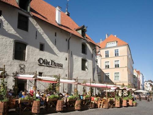 Olde Hansa ravintola Tallinna