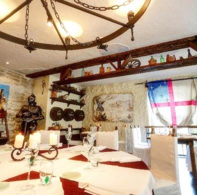 St Michael ravintola Baltic Hotel Imperial Tallinna