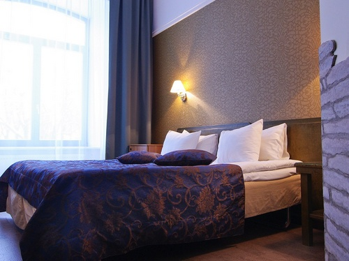 Standard huone Santa Barbara hotelli Tallinna