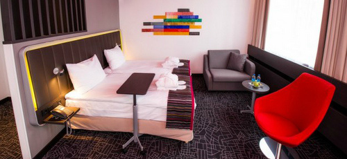 Superior huone Park Inn by Radisson Central Tallinna