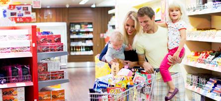 Silja Europa Supermarket myymälä