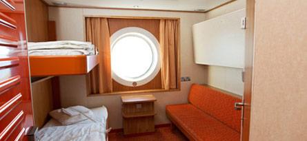 Tallink Star A-luokan hytti