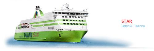 Tallink Star risteilyalus Helsinki Tallinna