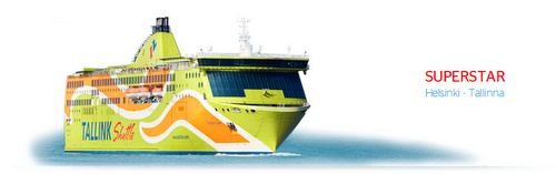 Tallink Superstar alus Helsinki Tallinna