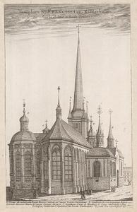 1670 piirros Tukholman Riddarholmskyrkan