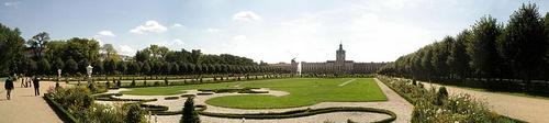Charlottenburgin linnan puisto Berliini