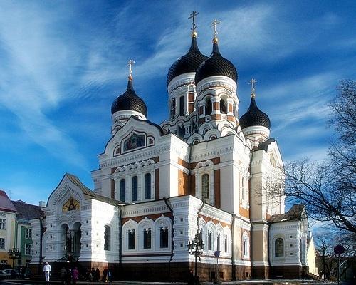 Aleksander Nevski katedraali Toompea Tallinna