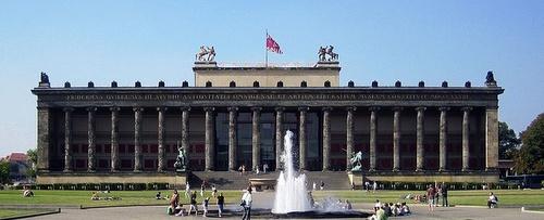 Altes Museum Museumsinsel Berliini