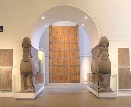 Assyyrialainen kokoelma British Museum Lontoo