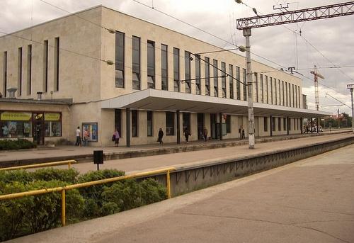 Balti Jaam rautatieasema Tallinna