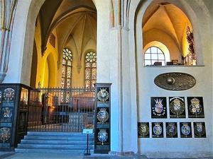 Bernadottelainen hautakuori Riddarholmenin kirkko Tukholma