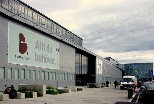 Bromma Blocks kauppakeskus Tukholma