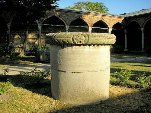 Bysantin valtakunnan aikainen pylväs Istanbul