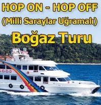 Dentur Avrasya Hop On Hop Off Bosporinsalmen risteilyt Istanbul