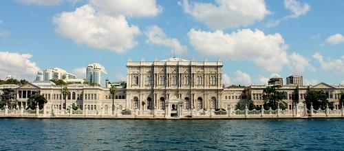 Dolmabahçen palatsi Istanbul