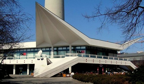 Fernsehturm paviljonki Berliini