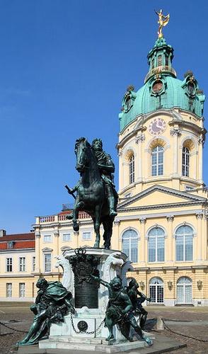 Fredrik Vilhelm Suuri vaaliruhtinas Charlottenburgin linna Berliini