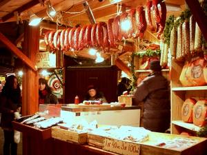 Gamla stan Tukholman joulumarkkinat koju