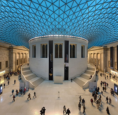 Great Court British Museum Lontoo