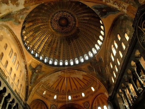 Hagia Sofia kupolirakenne Istanbul