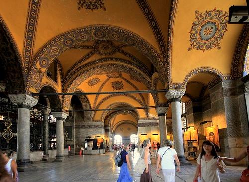Hagian Sofian ylemmät galleriat Istanbul