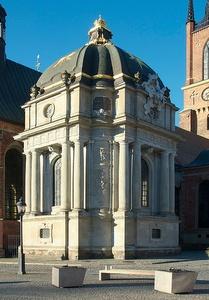Karoliininen hautakuori Riddarholmenin kirkko Tukholma