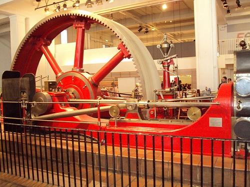 Kehräämömoottori Science Museum Lontoo